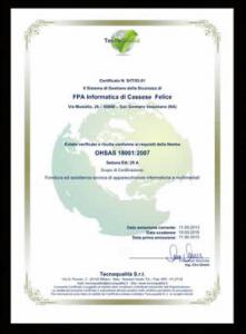 Certificato FPA - 18001-p1