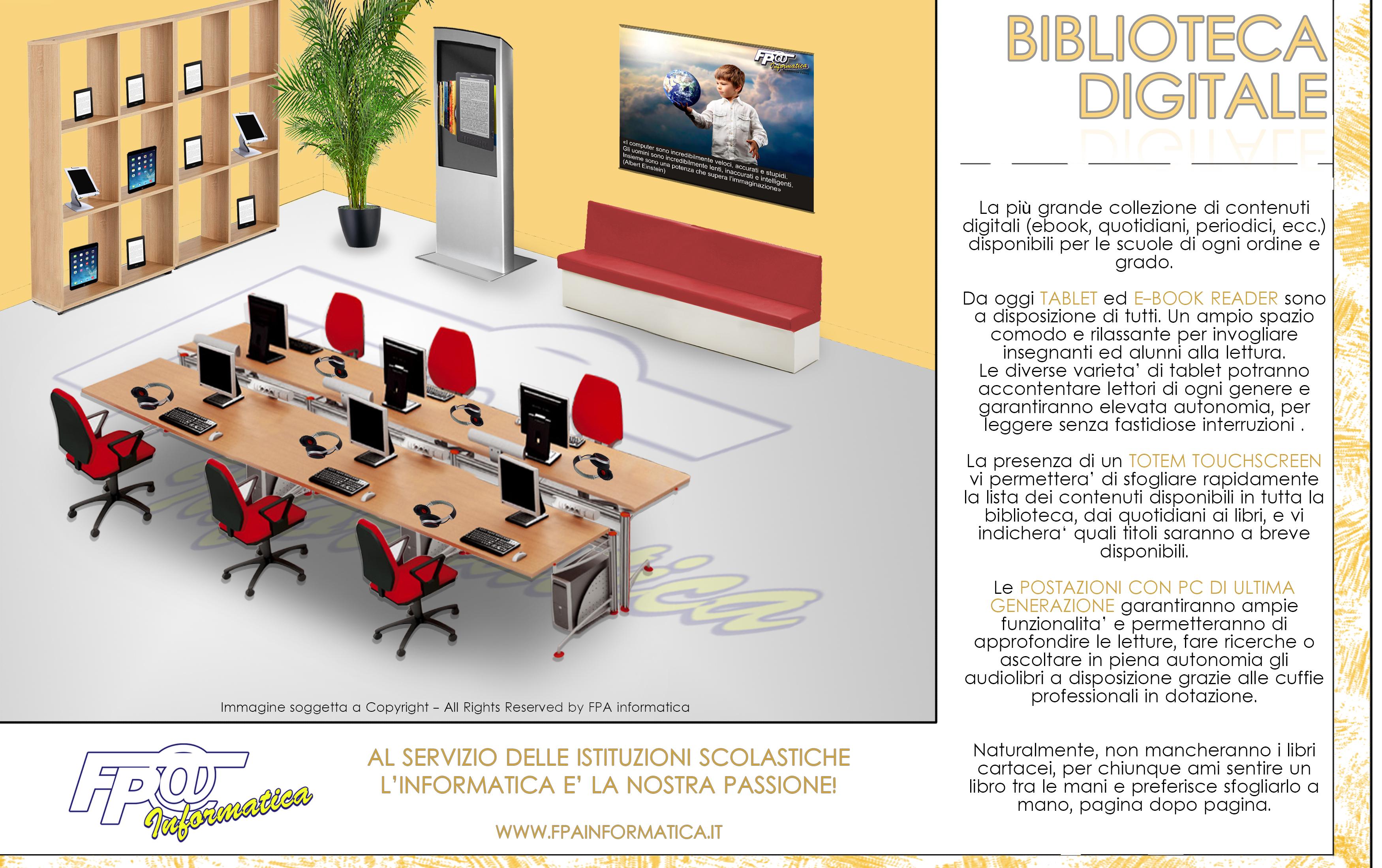 Fpa informatica srl for Arredi biblioteche